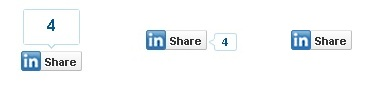 How to add Linkedin share, follow and recommended button ...