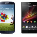 Comparison between Samsung galaxy S4 vs Sony Xperia Z
