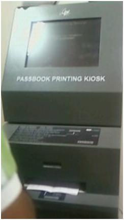 passbook printing machine