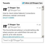 How to Add Twitter Update Widget to your Blog or Website