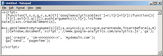 130720131 Add Google Analytics