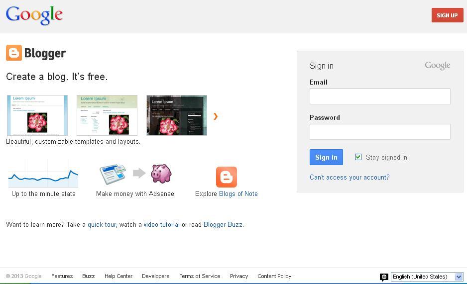 020820131 Free Blog Website Blogger