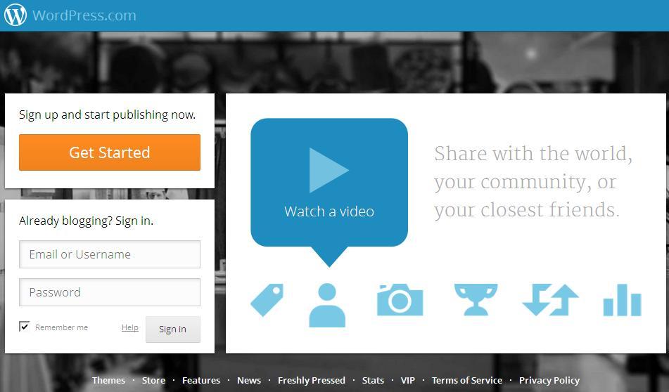020820132 Free Blog Website WordPress
