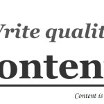 5 Ways to Create Quality Contents for Your Website or Blog