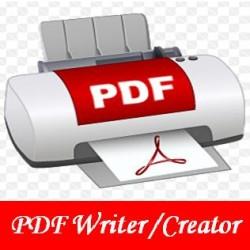 PDF Writer or Creator