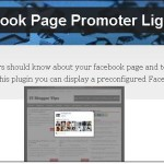 Best Facebook Page Promoter Lightbox Popup WordPress Plugin
