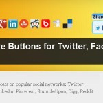 Install Hupso Share Buttons for Twitter, Facebook & Google+ plugin on WordPress Blog