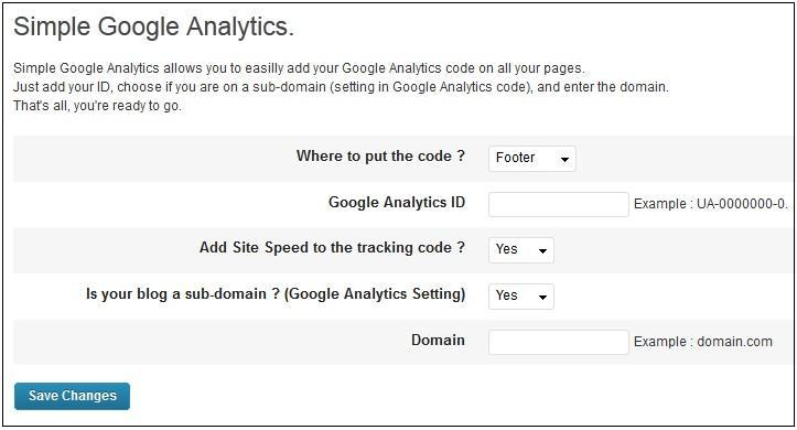 300720131 Simple Google Analytics
