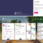 IRCTC Launched Windows 8 App for E-Ticketing