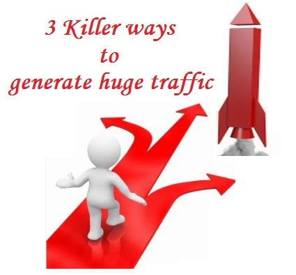 generate huge traffic