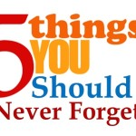 Never Forget 5 Things as You Become Successful Blogger