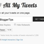 How to See All Your Tweets on One Page