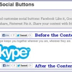 Install & Configure Simple Social Buttons on WordPress Blog