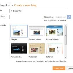 Create Free Blog