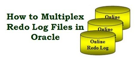 multiplex redo log files