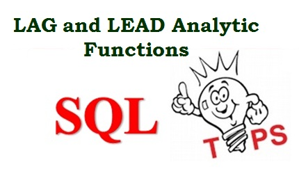 LAG and LEAD functions