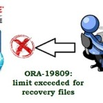 Fixed – ORA-19809: limit exceeded for recovery files