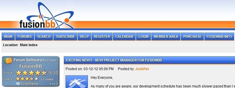fusionbb forum