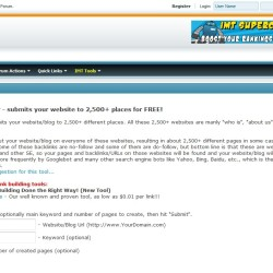 IMT Website Submitter