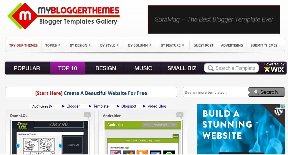 Blogger Templates Blogger Templates Gallery