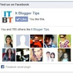 How to Add Facebook Like Box Widget to Blogger/WordPress