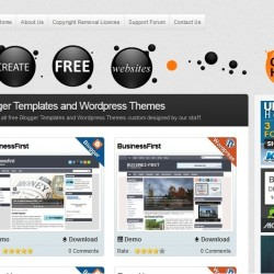 Free Blogger Templates DeluxeTemplates