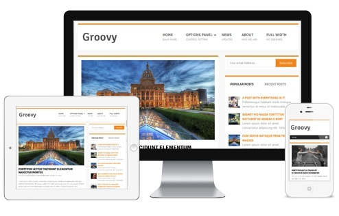 Free Responsive WordPress Theme