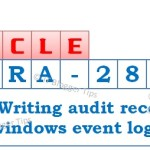 Fixed: ORA-28056: Writing audit records to Windows Event Log failed