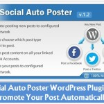Social Auto Poster WordPress Plugin to Promote Your Blog Post