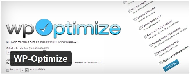 WPOptimize WordPress Plugin