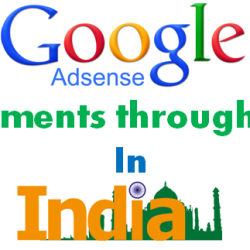 Google Adsense Payment through EFT in India