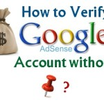 How to Verify Google Adsense Account without PIN?