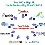 Top 100+ High PR Social Bookmarking Sites of 2014