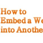 How to Embed a Website into Another Website