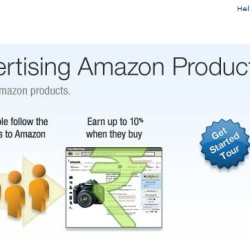 Join affiliate program with Amazon