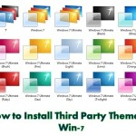 How to Install Third Party Themes in Win-7
