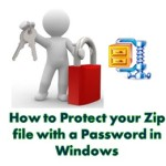 How to Protect your Zip file with a Password in Windows