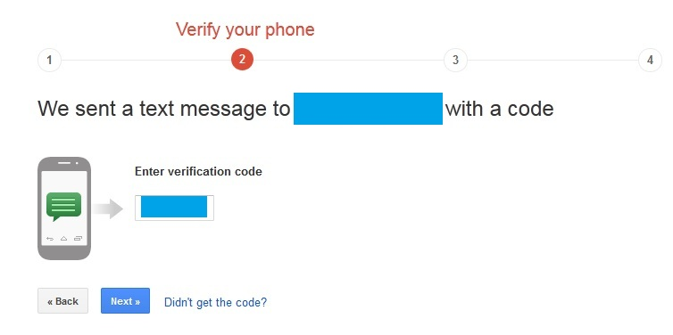 Setup 2-Step Verification in Gmail