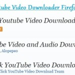 Top 3 Youtube Video Downloader Firefox Add-ons