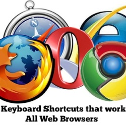 44 Keyboard Shortcuts work in all web browsers