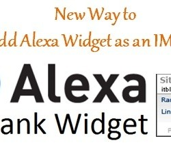 Add Alexa Widget as an Image