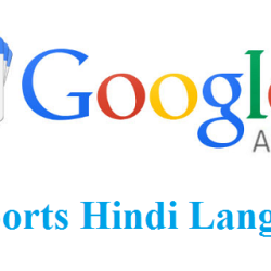 Google Adsense Supports Hindi Language
