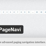 WP-PageNavi WordPress Plugin for Advanced Pagination