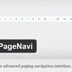 WP-PageNavi WordPress Plugin