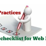 Web Design Best Practices – Useful Checklist
