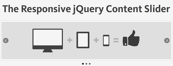 bxSlider – The Responsive jQuery Content Slider