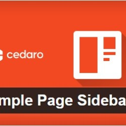 Custom Sidebar WordPress Plugins for Post & Pages