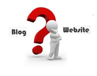 Blog Vs Website