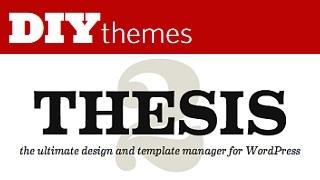 DIY Themes - Thesis WordPress Themes