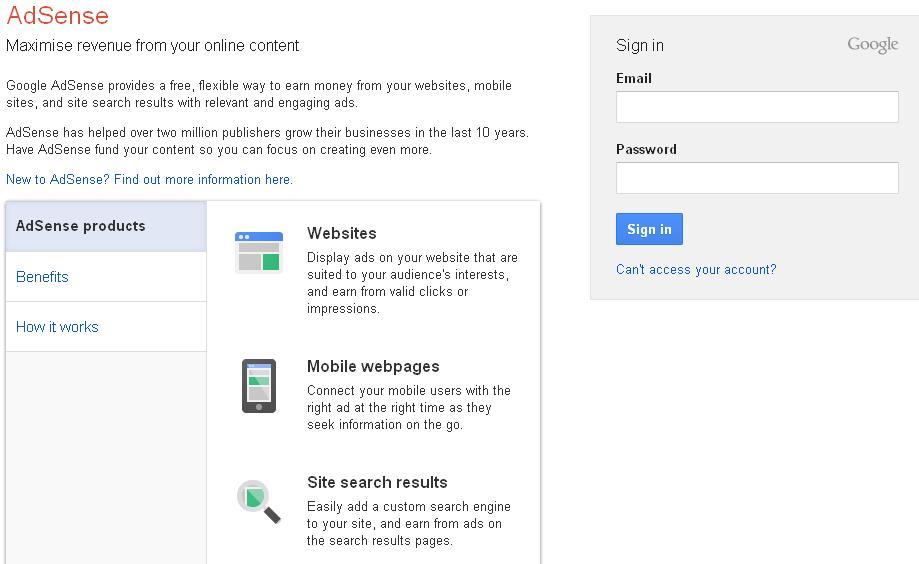 290720131 Google Adsense